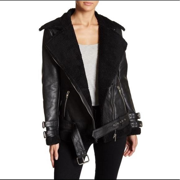 big discount preview of hot-seeling original Original new Walter Baker genuine leather jacket Boutique